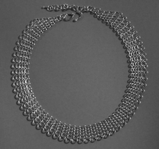 Silver Necklace ANT5
